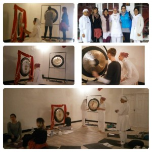 Picture of a Beginners gong training